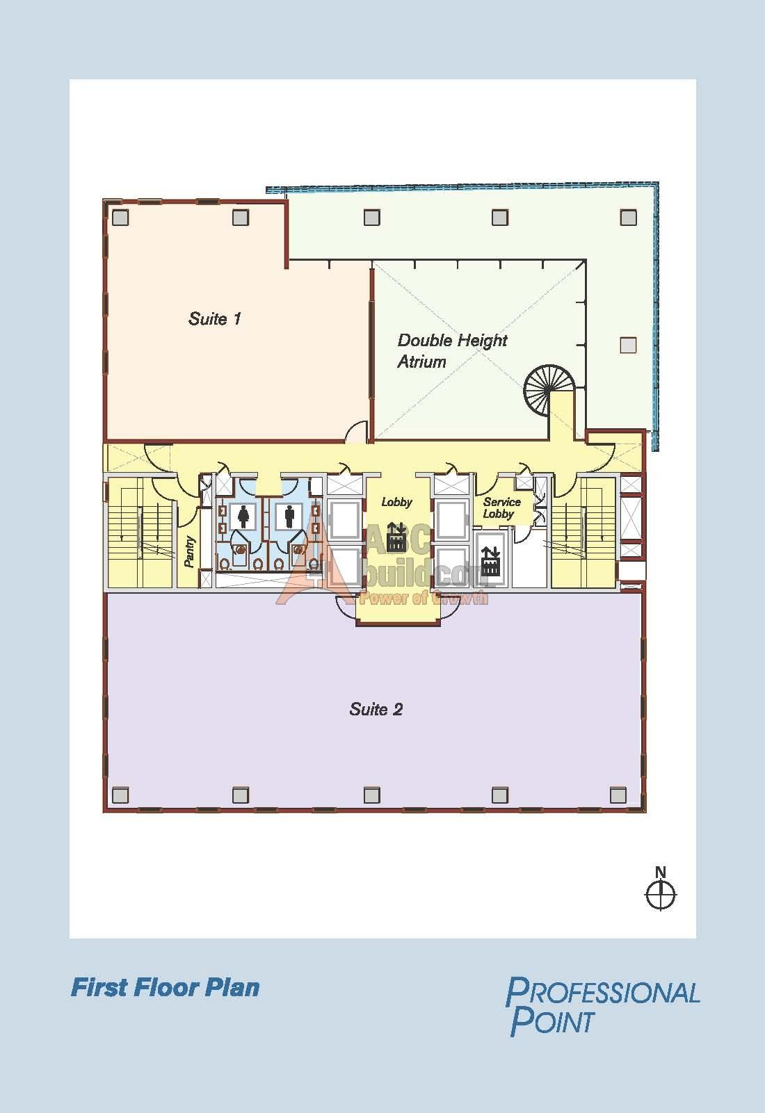 Vatika professional point sec 66 golf course ext road for Landcraft homes floor plans