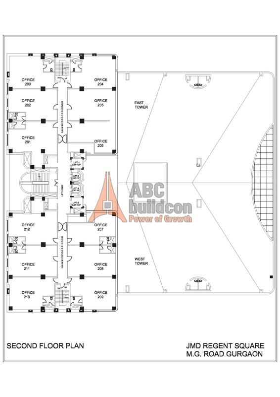 Jmd regent square dlf phase 2 mg road gurgaon for 13th floor mg road menu