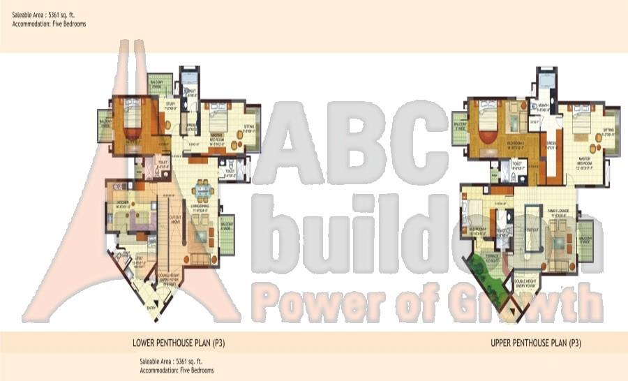 Bptp freedom park life sector 57 gurgaon for Landcraft homes floor plans