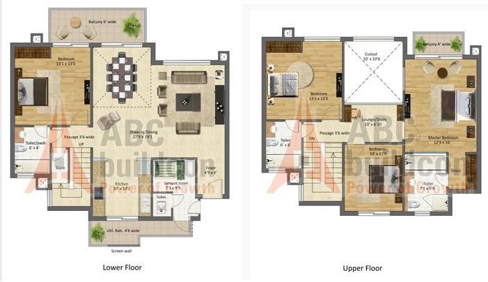 Bptp mansions park prime sector 66 gurgaon for Landcraft homes floor plans
