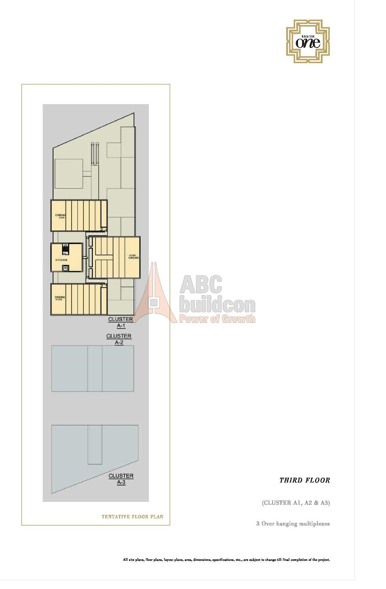 100 Floor Plan Burman Gsc Emaar Mgf Emerald Plaza