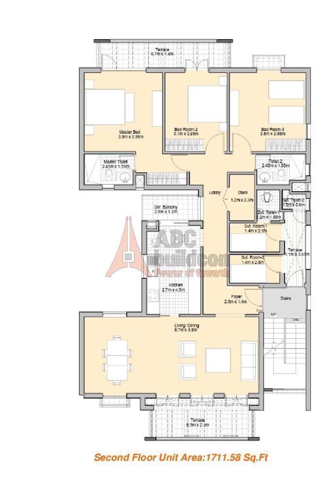 Vatika premium floors sec 82 vatika india next gurgaon for Landcraft homes floor plans