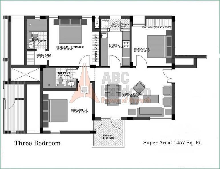 Vatika city homes sector 83 vatika india next gurgaon for Landcraft homes floor plans