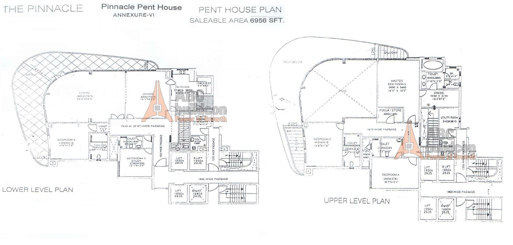 Dlf pinnacle golf course road gurgaon for Landcraft homes floor plans