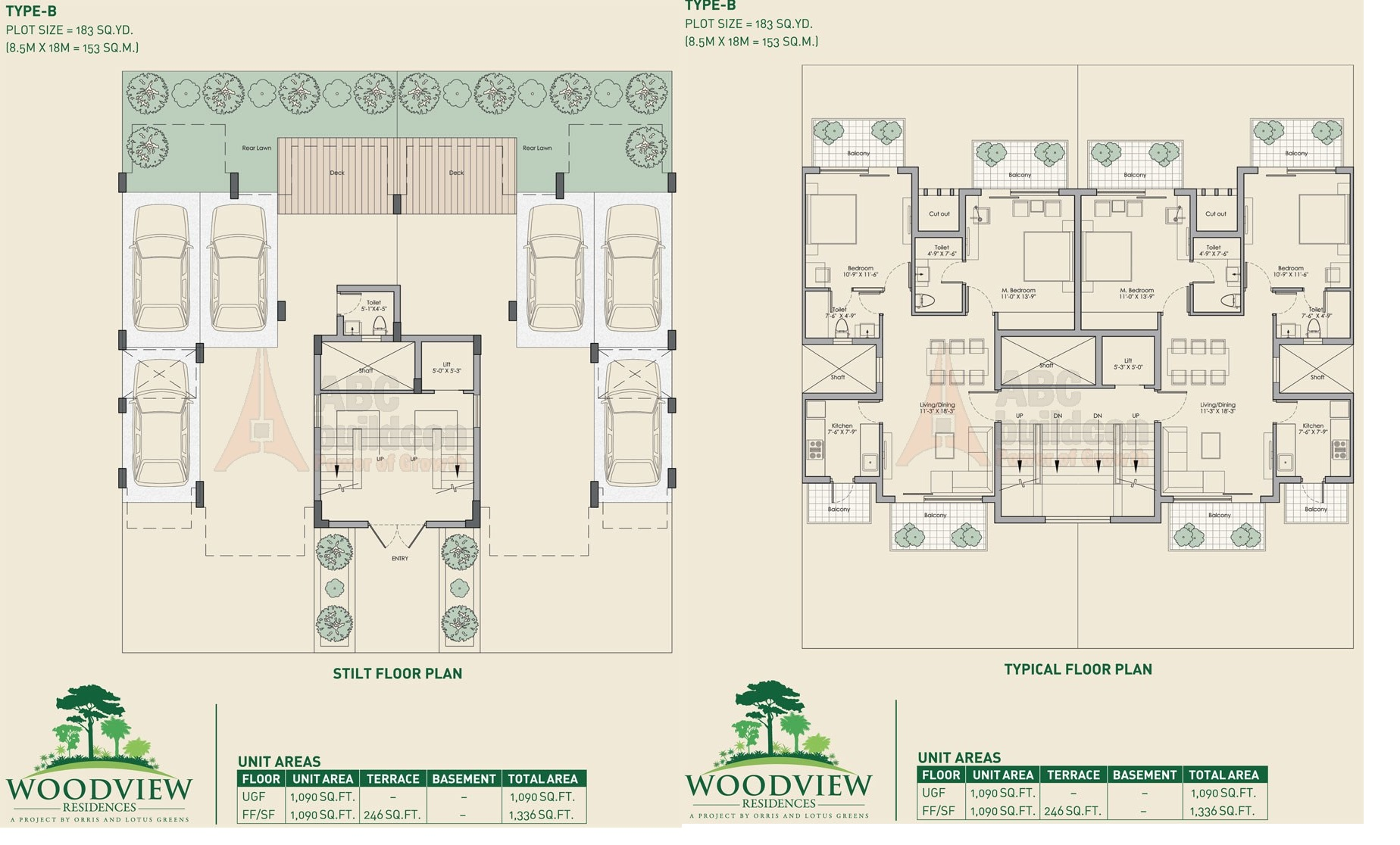 Lotus woodview residences sector 89 90 gurgaon for Landcraft homes floor plans