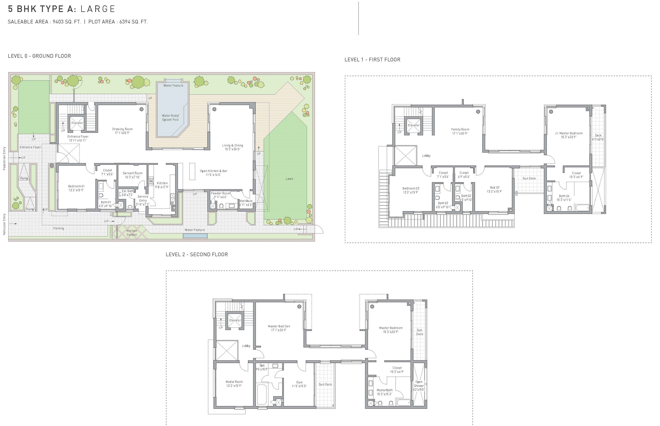 Tata arabella villas sohna road gurgaon for Landcraft homes floor plans