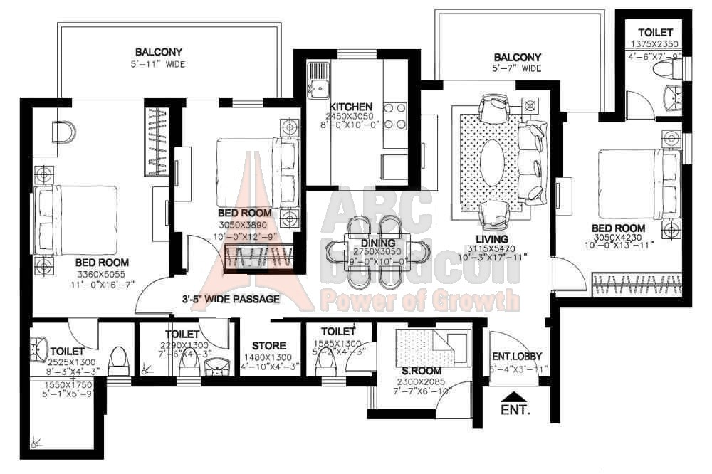 Dlf express greens sector m1a manesar gurgaon for Landcraft homes floor plans