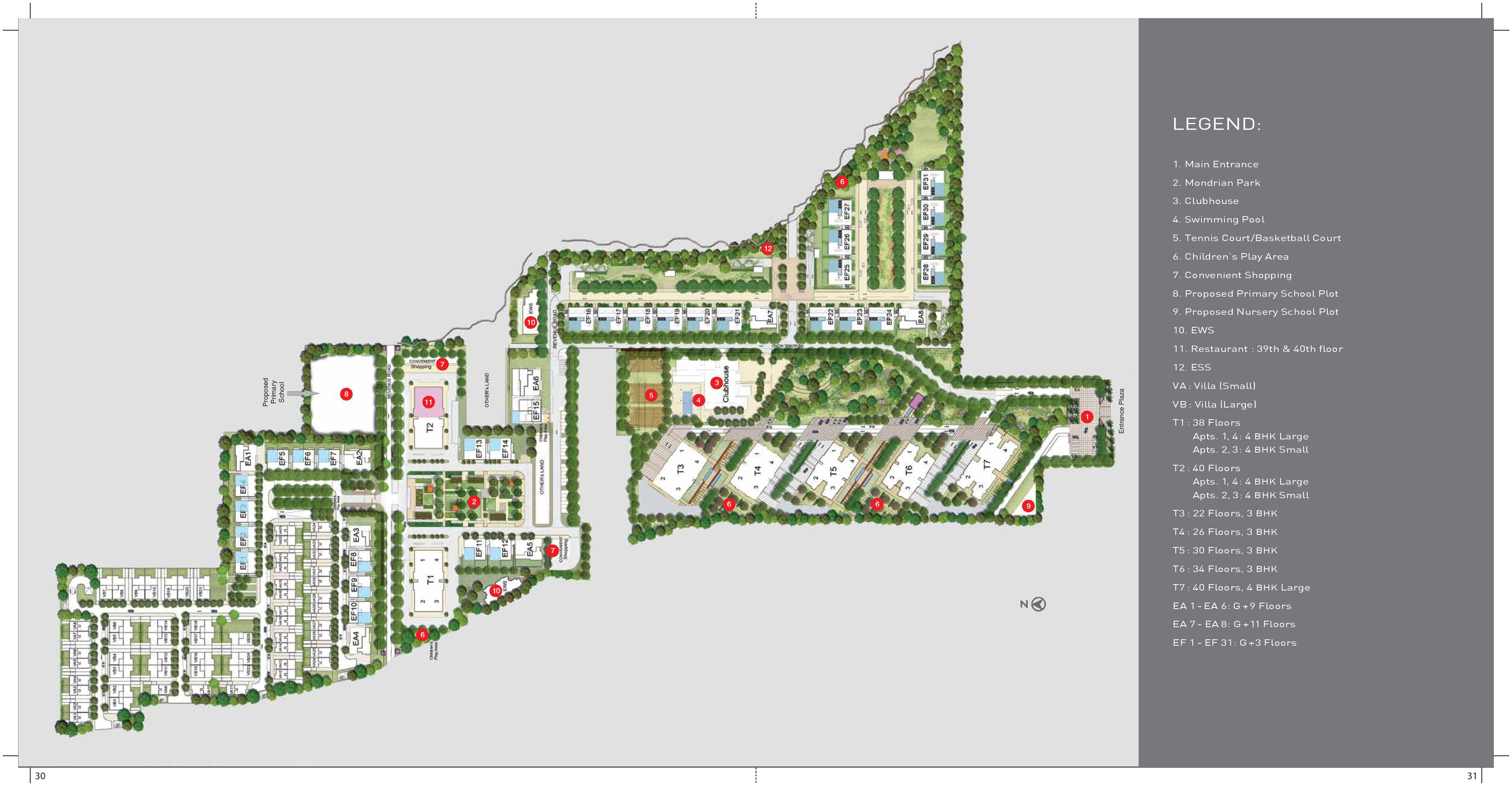 Tata primanti sector 72 gurgaon for Website build project plan