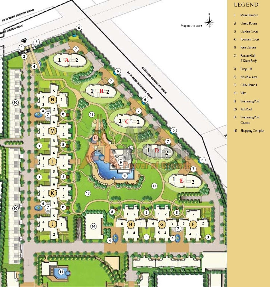 Emaar Mgf Palm Drive Sec 66 Golf Course Ext Road Gurgaon