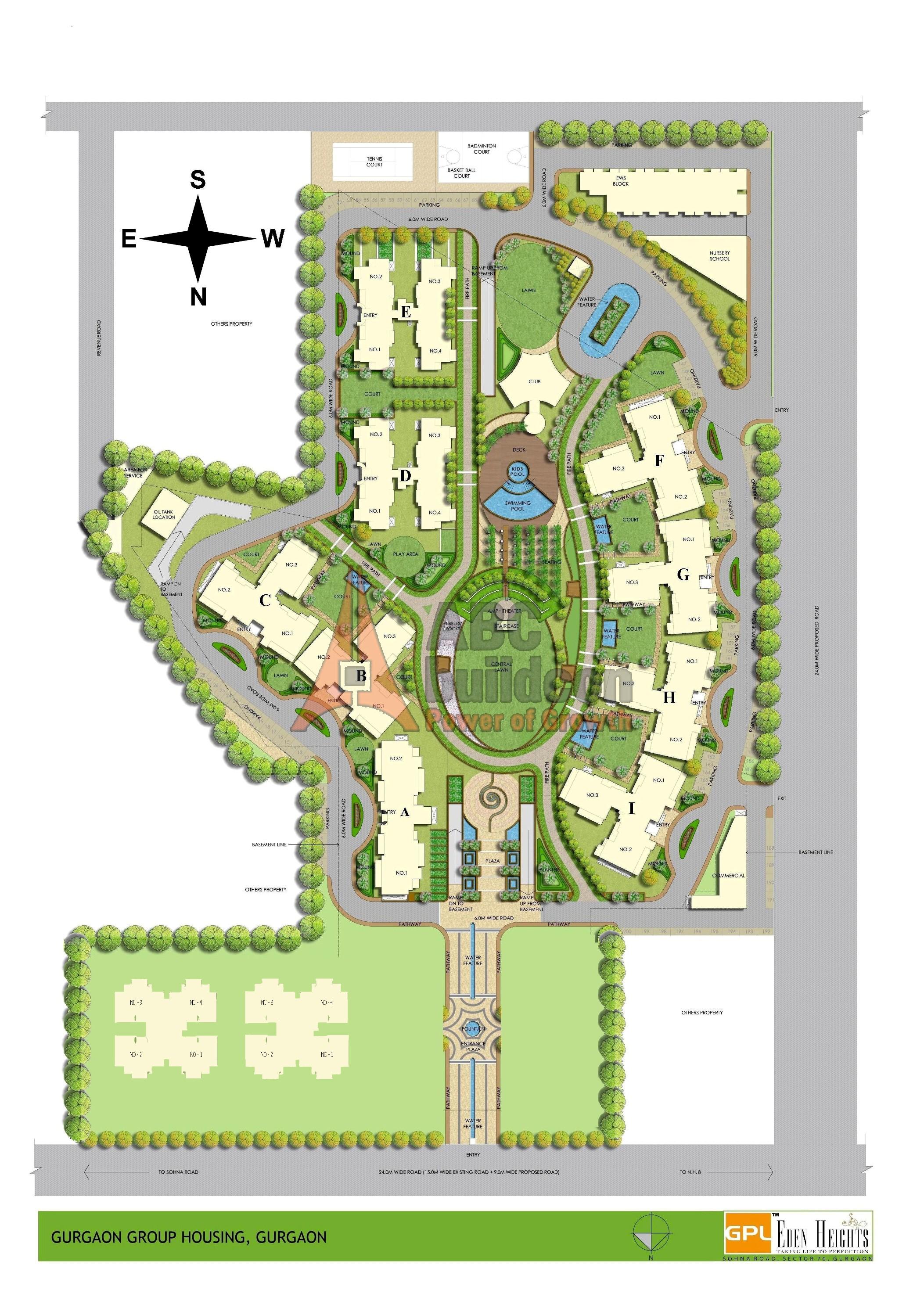 Gpl eden heights sector 70 gurgaon for Website build project plan