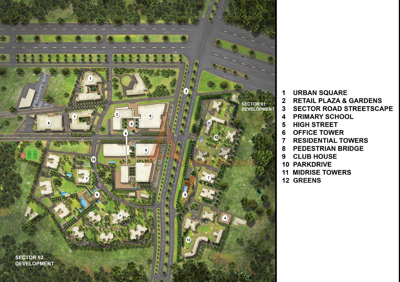 Pioneer Park Gurgaon Floor Plan Pioneer Presidia Sector 62 Golf Course Ext Road Gurgaon