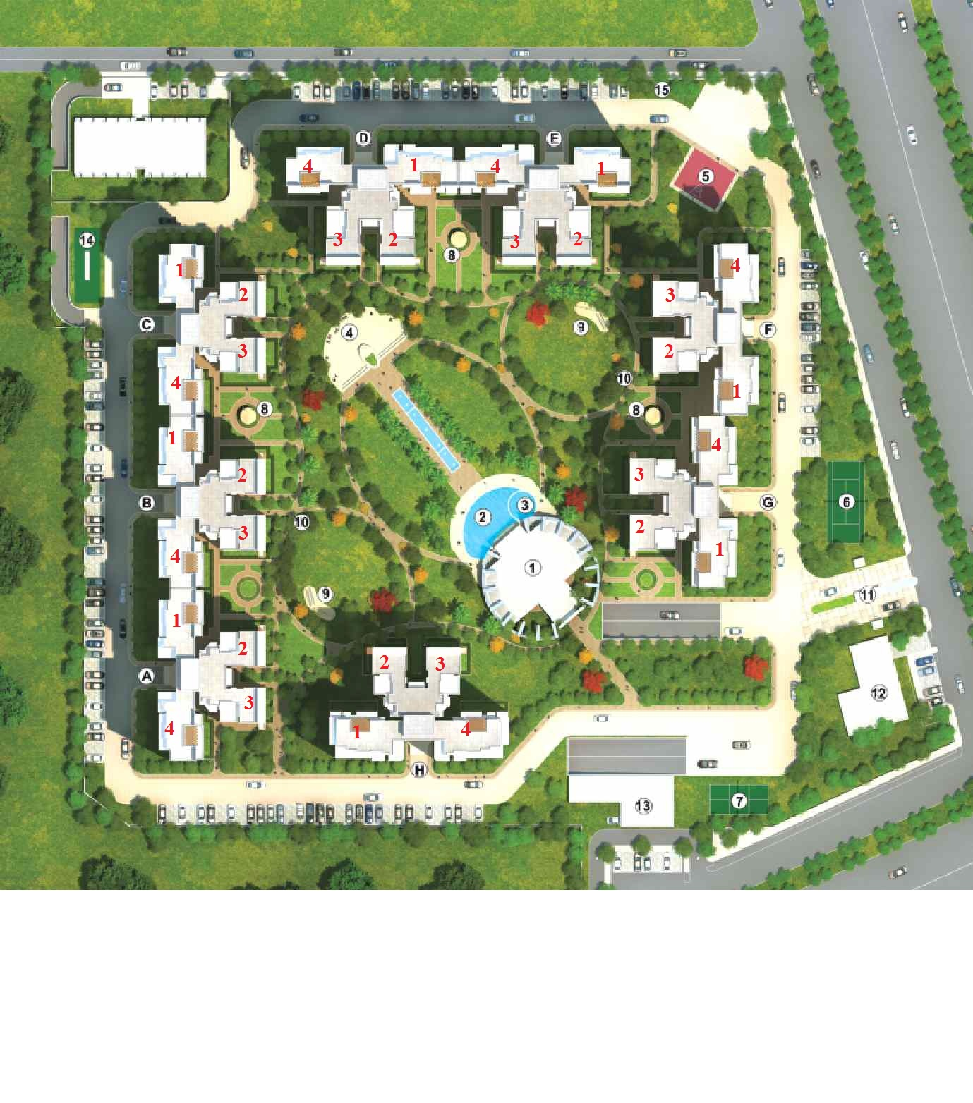 Security Park Apartments: Bestech Park View Sanskruti, Sector 92, Gurgaon