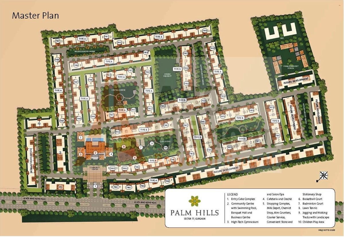 Emaar Mgf Palm Hills Sector 77 Nh 8 Gurgaon